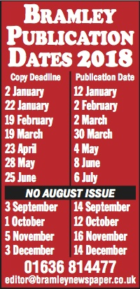 PUBLICATION DATES 2018 7x1