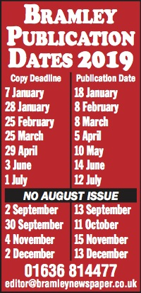PUBLICATION DATES 2019 7x1